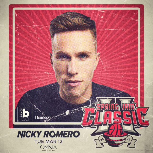 Nicky Romero at OMNIA Las Vegas on  Tuesday,  March 12, 2019