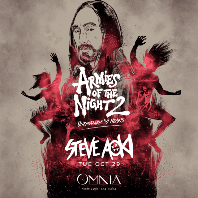 Steve Aoki at OMNIA Las Vegas on  Tuesday,  October 29, 2019
